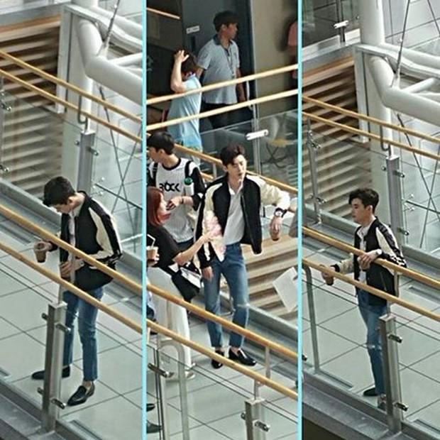 Lee Jong Suk siêu giàu, siêu ngầu - Han Hyo Joo hóa bác sĩ xinh tươi trong phim mới - Ảnh 19.