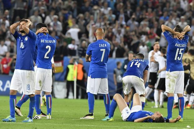 Đức vỡ òa, Italia sụp đổ sau trận tứ kết nghẹt thở trên chấm luân lưu - Ảnh 18.