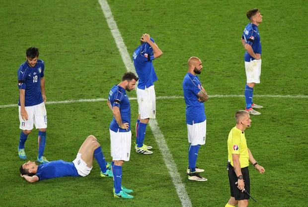Đức vỡ òa, Italia sụp đổ sau trận tứ kết nghẹt thở trên chấm luân lưu - Ảnh 19.