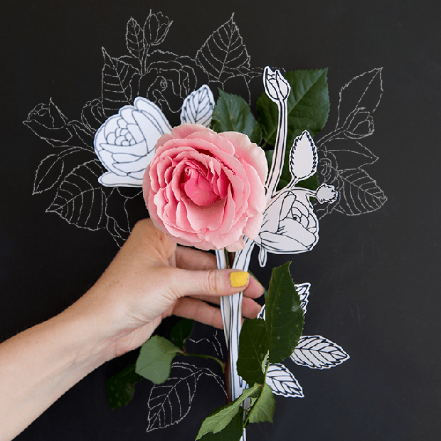 Học vẽ 3 kiểu hoa dễ như đùa mà vẫn đẹp - Ảnh 9.