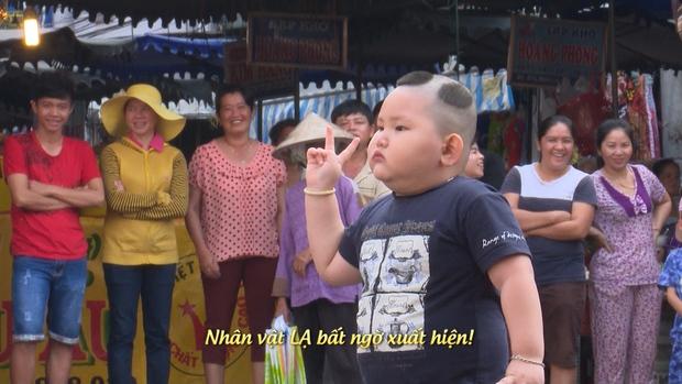 Bố ơi: Bi Béo ngỡ ngàng khi gặp nhóc tì bản sao - Ảnh 3.