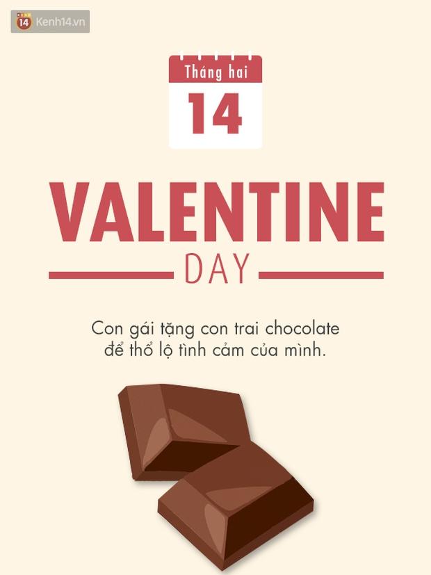Không chỉ Valentine, ngày 14 tháng nào cũng đều có ý nghĩa - Ảnh 2.
