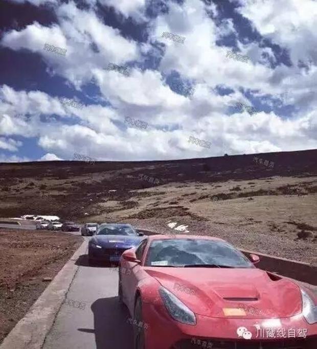 Cái kết cho đại gia lái Ferrari dẫn đoàn siêu xe đi khám phá cung đường nguy hiểm nhất Trung Quốc - Ảnh 1.