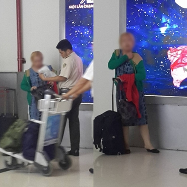 Có hay không việc mẹ đẻ dửng dưng nhìn con gái bị đánh đập, kéo lê tại sân bay Tân Sơn Nhất? - Ảnh 4.