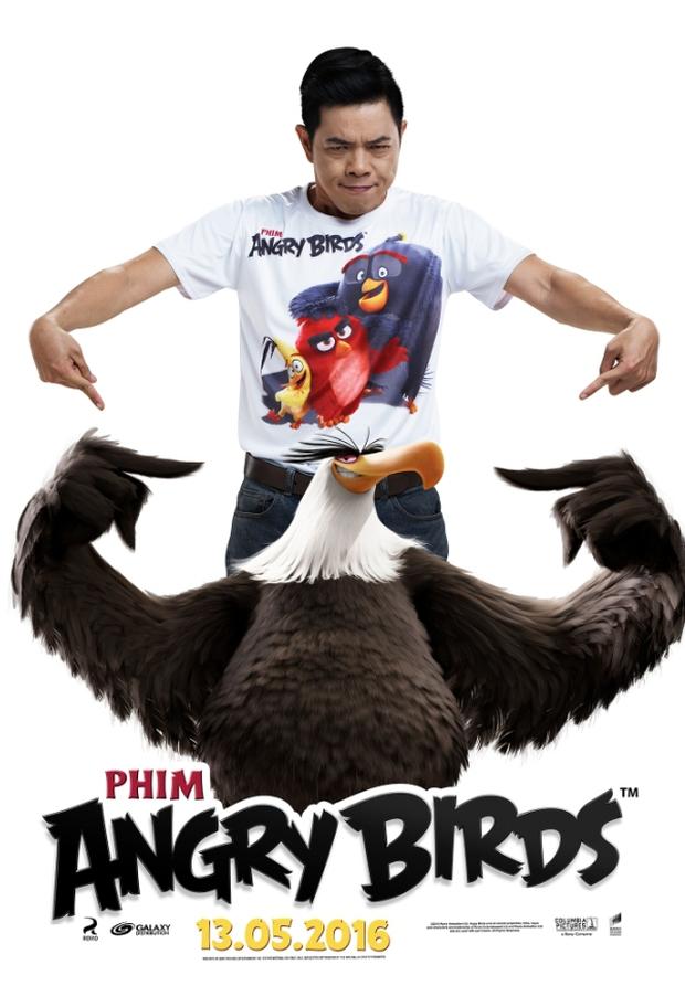 Thái Hòa trở thành Red cáu giận trong The Angry Birds Movie - Ảnh 2.