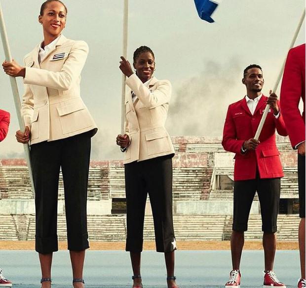 Tưởng chừng đơn giản nhưng đồng phục của Cuba tại Olympic được thiết kế bởi hãng thời trang danh giá Christian Louboutin - Ảnh 3.