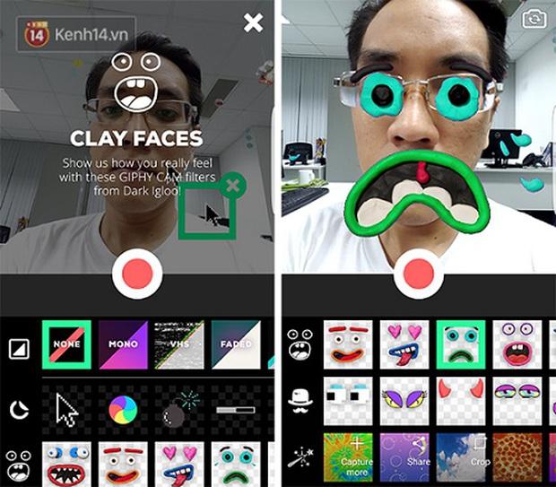 Tha hồ chế ảnh GIF nhí nhố cho bạn bè lác mắt cùng GIPHY CAM - Ảnh 2.