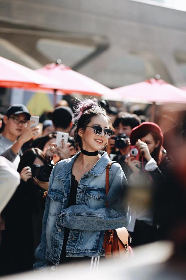 Châu Bùi & Cao Minh Thắng ton-sur-ton, Min diện quần một mất một còn tại Seoul Fashion Week ngày 3 - Ảnh 10.