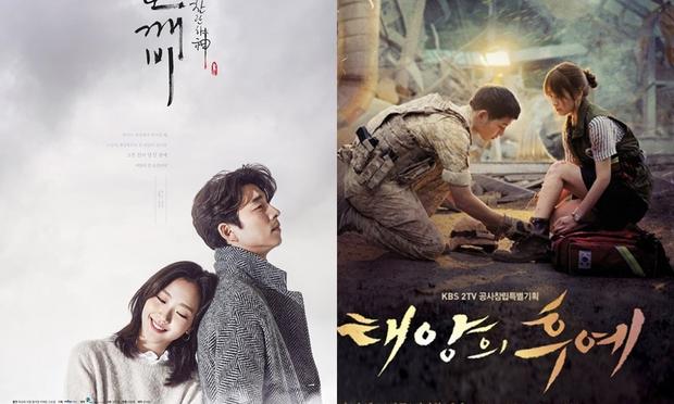 """Goblin """"hạ bệ"""" Hậu Duệ Mặt Trời, Huyền Thoại Biển Xanh để trở thành hiện tượng phim Hàn năm 2016 - Ảnh 2."""
