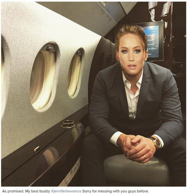 Tình tứ trong Passengers, nhưng Chris Pratt - Jennifer Lawrence ngoài đời lại troll nhau thật bá đạo! - Ảnh 9.