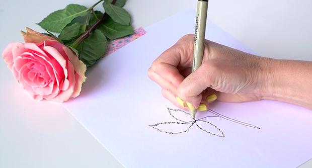 Học vẽ 3 kiểu hoa dễ như đùa mà vẫn đẹp - Ảnh 12.