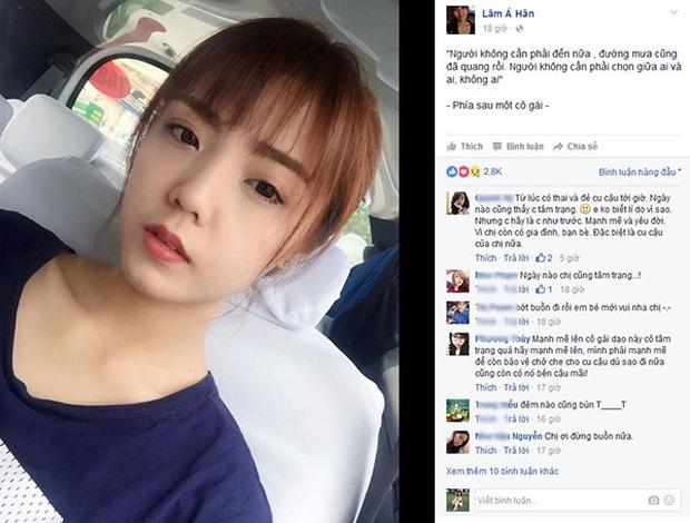 Hotgirl Lâm Á Hân livestream cãi nhau với chồng, quyết ra toà ly hôn - Ảnh 5.
