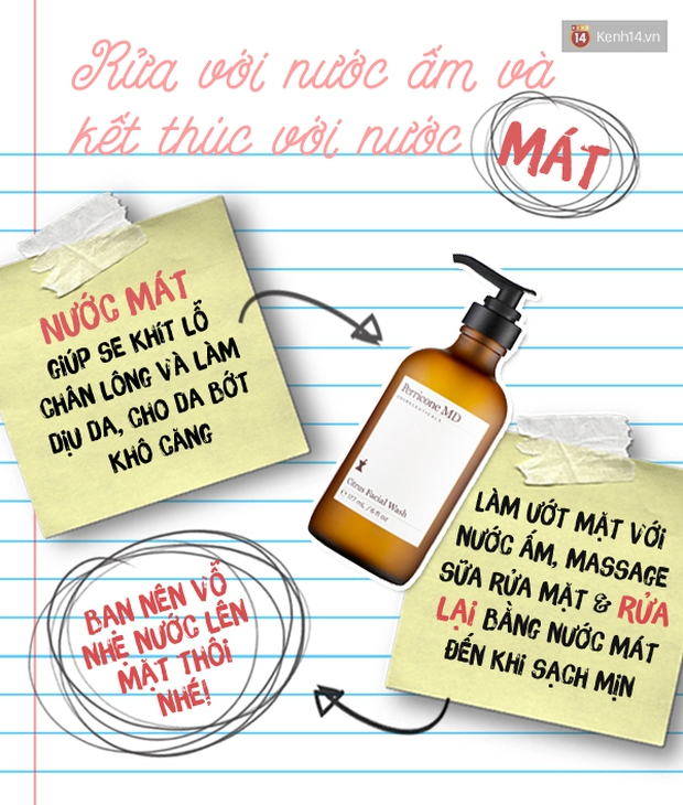 """Cách rửa mặt """"chuẩn xác"""" để da không còn khô nẻ mùa đông này - Ảnh 2."""