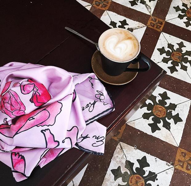 Hà Nội: Muốn chụp ảnh nền gạch hoa vintage? Cứ đến những quán cafe này - Ảnh 21.