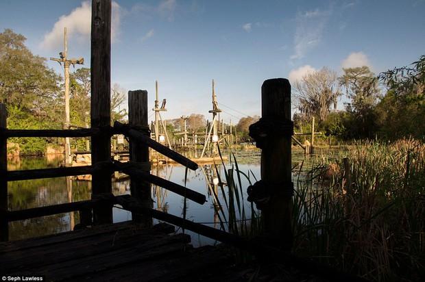 Hình ảnh ghê rợn bên trong công viên nước bỏ hoang 15 năm của Disney - Ảnh 18.