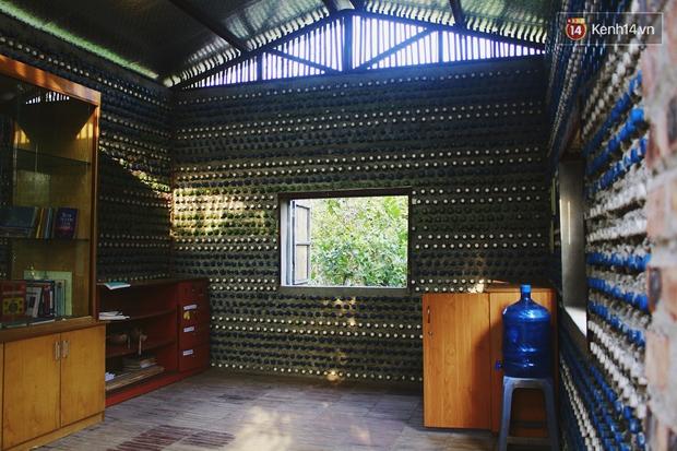 Ngôi nhà đặc biệt xây bằng 8.800 vỏ chai nhựa ở Hà Nội - Ảnh 10.