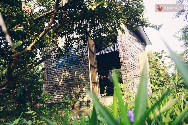 Ngôi nhà đặc biệt xây bằng 8.800 vỏ chai nhựa ở Hà Nội - Ảnh 6.