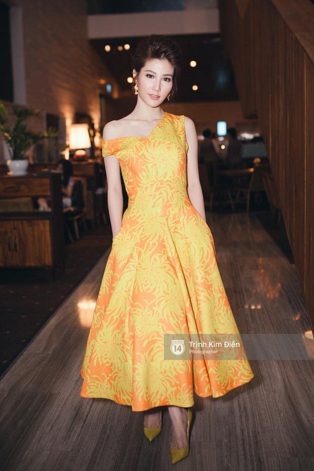 Hà Tăng tái xuất, tự tin đọ sắc cùng đàn em trong váy hoa rực rỡ - Ảnh 10.