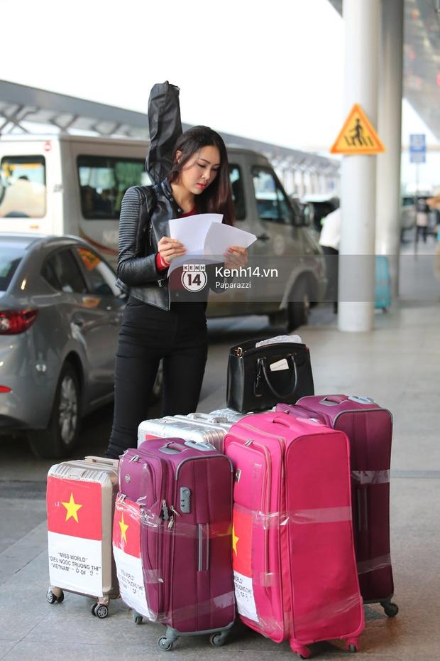 Đại diện Việt Nam - Diệu Ngọc chính thức lên đường đến cuộc thi nhan sắc lớn nhất hành tinh Hoa hậu Thế giới 2016 - Ảnh 6.
