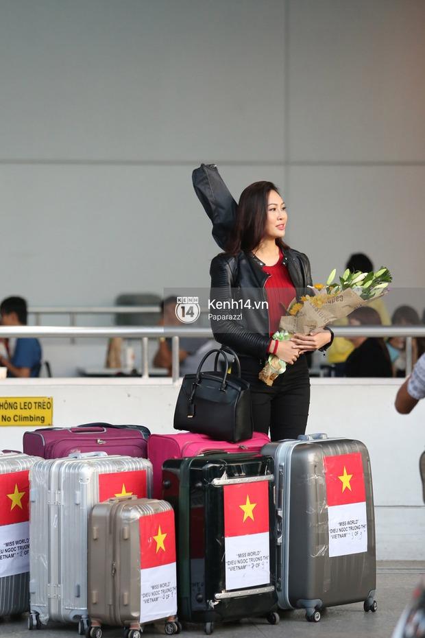 Đại diện Việt Nam - Diệu Ngọc chính thức lên đường đến cuộc thi nhan sắc lớn nhất hành tinh Hoa hậu Thế giới 2016 - Ảnh 11.