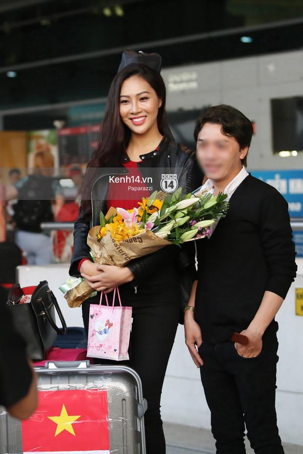 Đại diện Việt Nam - Diệu Ngọc chính thức lên đường đến cuộc thi nhan sắc lớn nhất hành tinh Hoa hậu Thế giới 2016 - Ảnh 8.