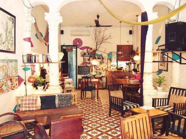 Hà Nội: Muốn chụp ảnh nền gạch hoa vintage? Cứ đến những quán cafe này - Ảnh 22.