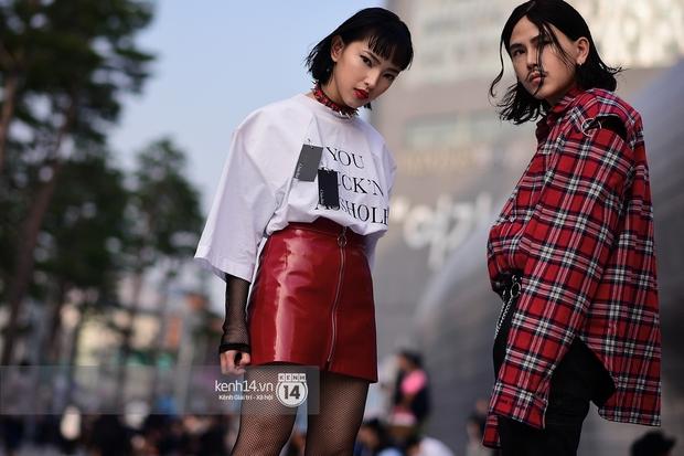 Hoàng Ku, Châu Bùi, Min xuất hiện cực nét cùng fashionista Hàn tại Tuần lễ thời trang ngày 3 - Ảnh 21.
