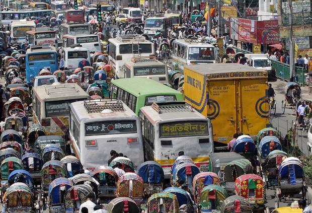 Không chỉ Indonesia, rất nhiều thành phố khác trên thế giới cũng thường xuyên ùn tắc kinh hoàng - Ảnh 22.
