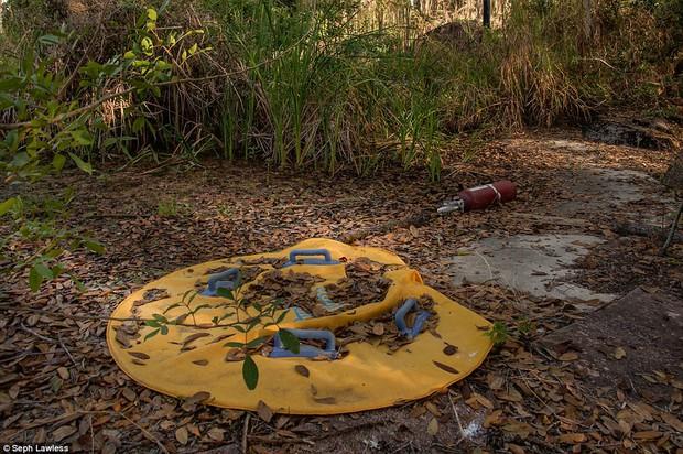 Hình ảnh ghê rợn bên trong công viên nước bỏ hoang 15 năm của Disney - Ảnh 21.
