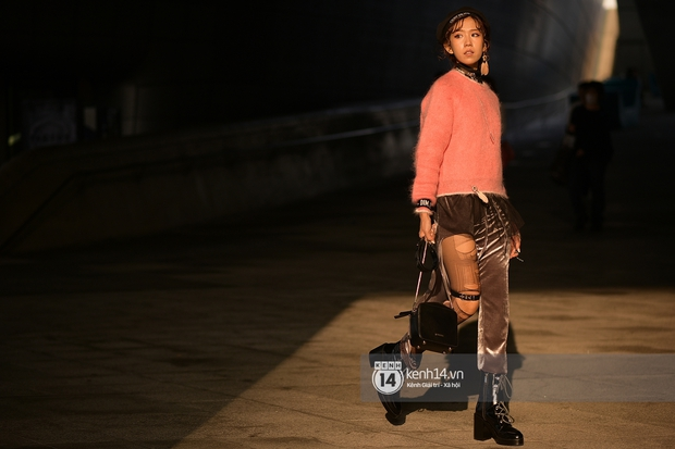 Hoàng Ku, Châu Bùi, Min xuất hiện cực nét cùng fashionista Hàn tại Tuần lễ thời trang ngày 3 - Ảnh 24.