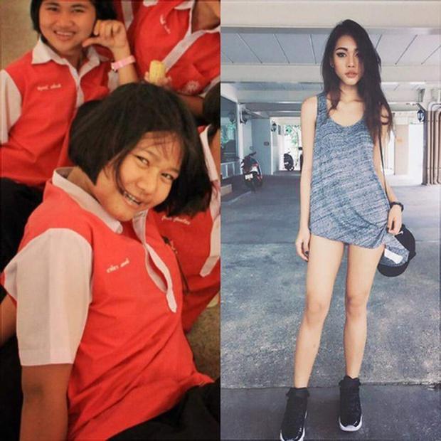 Cuộc lột xác ngoạn mục của cô gái Thái Lan với vòng eo 46cm sẽ khiến bạn ngỡ ngàng - Ảnh 1.