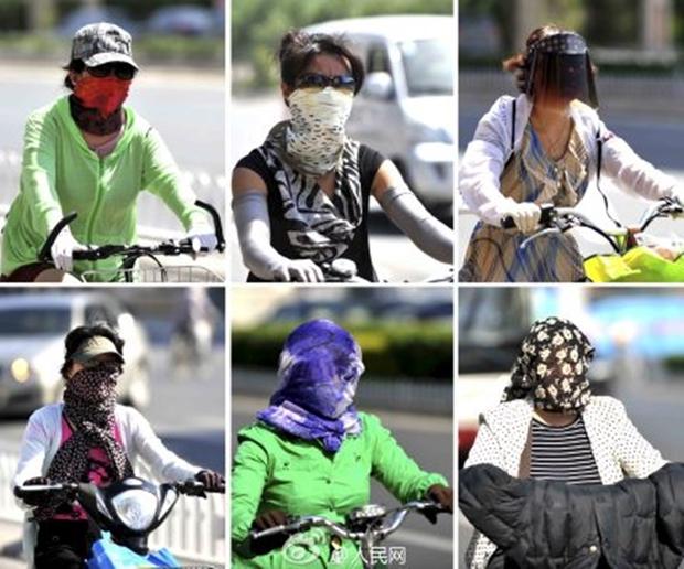 Nắng nóng kinh hoàng đã khiến người Trung Quốc thành ra như thế này đây - Ảnh 4.
