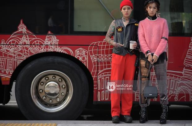 Hoàng Ku, Châu Bùi, Min xuất hiện cực nét cùng fashionista Hàn tại Tuần lễ thời trang ngày 3 - Ảnh 26.