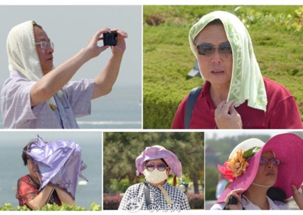 Nắng nóng kinh hoàng đã khiến người Trung Quốc thành ra như thế này đây - Ảnh 5.