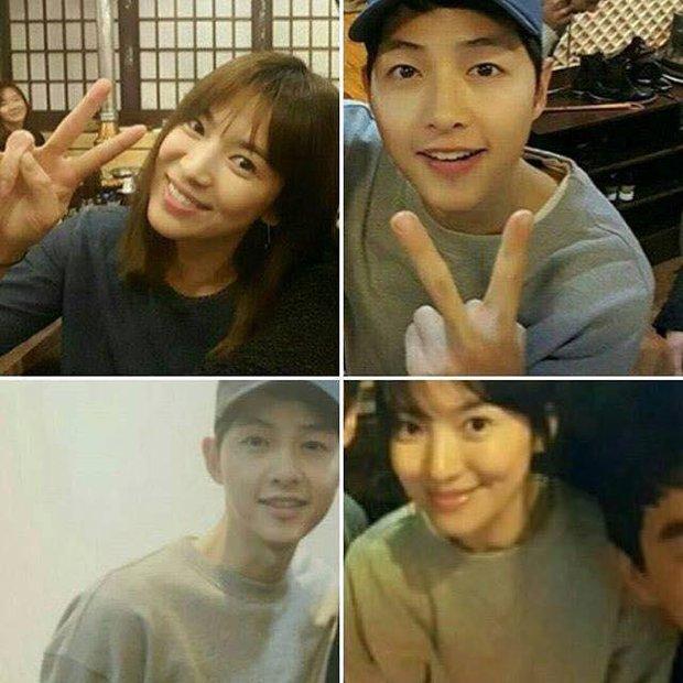 Tất tần tật những lần Song Joong Ki và Song Hye Kyo vô tình mặc đồ giống nhau - Ảnh 4.