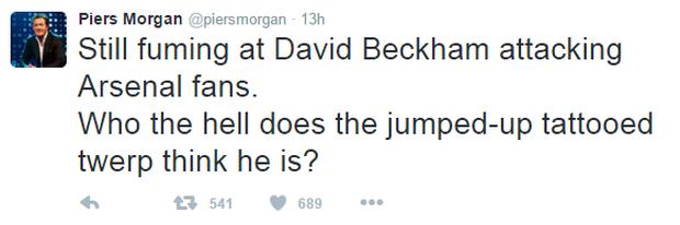 Ra mặt ủng hộ Wenger, Beckham bị chửi thậm tệ - Ảnh 5.