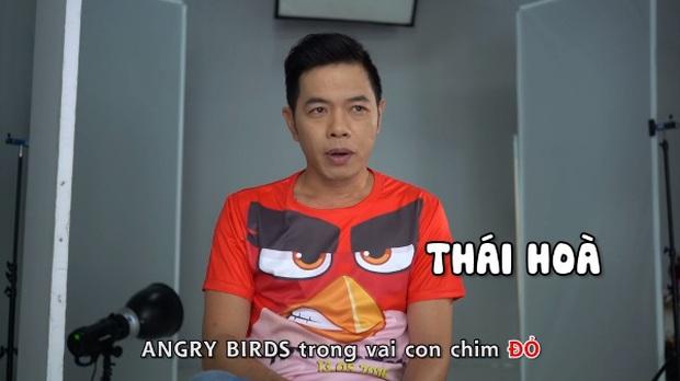 Thái Hòa trở thành Red cáu giận trong The Angry Birds Movie - Ảnh 4.