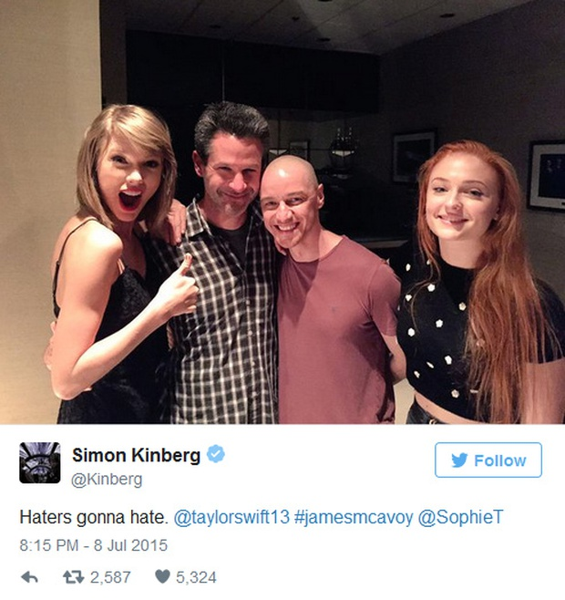 Rộ tin Taylor Swift sắm vai Dị nhân trong phim X-Men: Apocalypse - Ảnh 3.