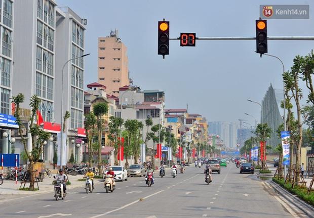 Thông xe tuyến đường kiểu mẫu đầu tiên ở Hà Nội - Ảnh 3.