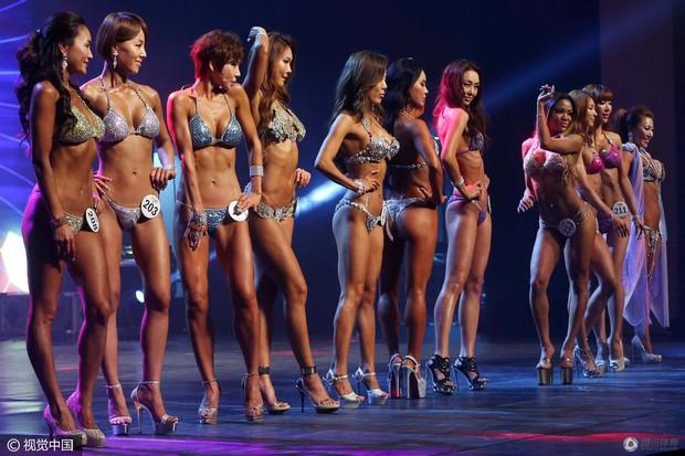 Những hình ảnh trong cuộc thi Mỹ nhân cơ bắp ở Hàn Quốc - Ảnh 4.