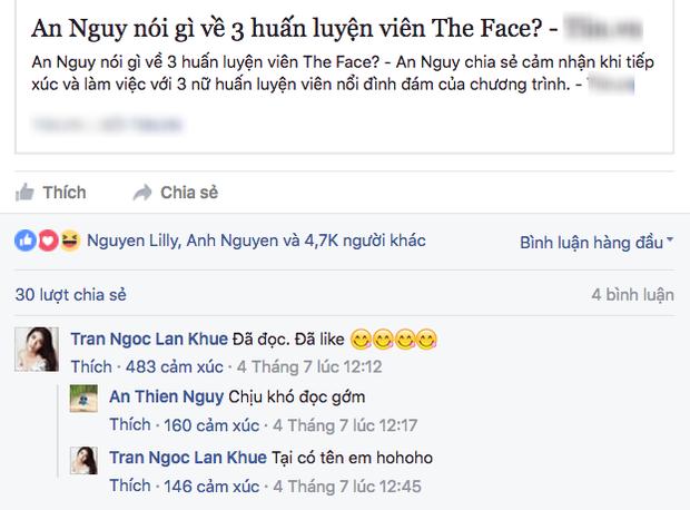 Rộ tin An Nguy làm lơ Phạm Hương nhưng lại thân thiết với Lan Khuê sau The Face - Ảnh 3.