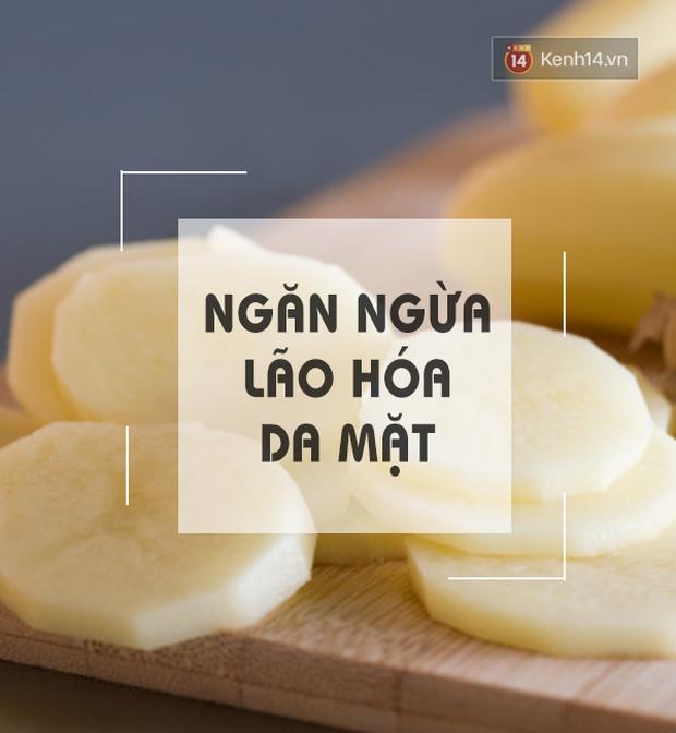 Lý do bạn nên dùng 1 lát khoai tây massage mặt và cơ thể mỗi ngày - Ảnh 3.