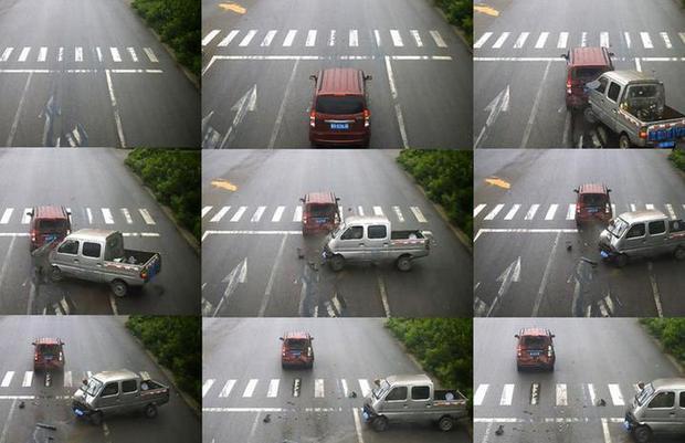 Không thắt dây an toàn khi lái xe, tài xế mắc kẹt đầu vào kính chắn gió lúc gặp tai nạn - Ảnh 4.