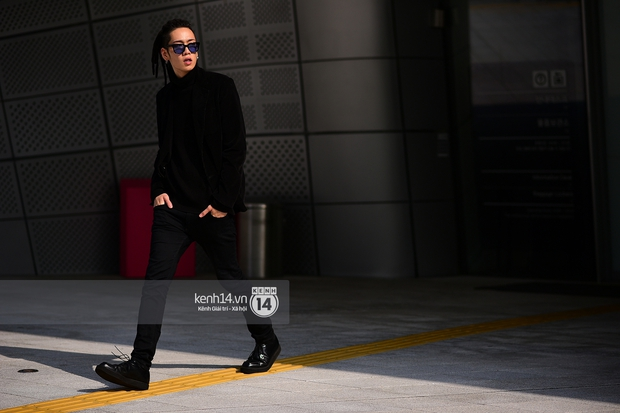 Hoàng Ku, Châu Bùi, Min xuất hiện cực nét cùng fashionista Hàn tại Tuần lễ thời trang ngày 3 - Ảnh 3.