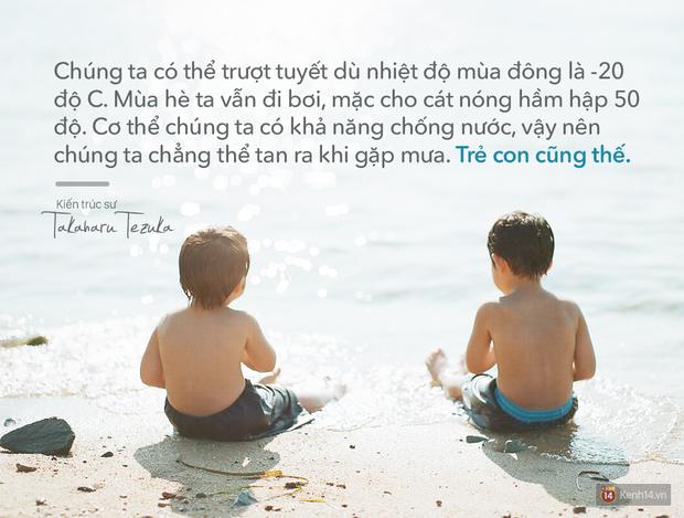 Người Nhật dạy trẻ con: Chúng cần phải bị trầy xước, để biết cách sống trong thế giới này! - Ảnh 5.