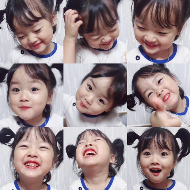 Cô nhóc Hàn Quốc đáng yêu tới nỗi xem ảnh mà chỉ muốn lao ngay vào... cắn má - Ảnh 13.