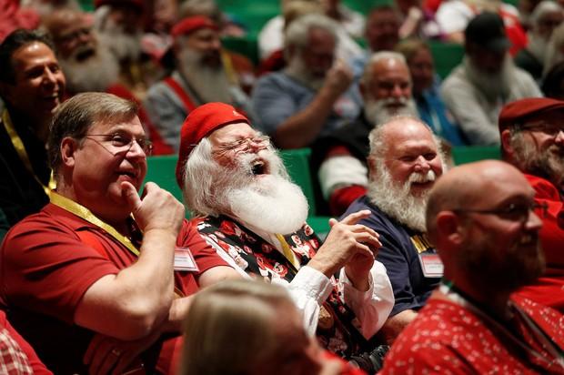 Bên trong trường đào tạo ông già Noel trước mùa Giáng sinh - Ảnh 5.