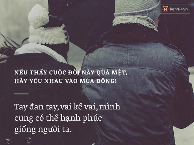 Nếu thấy cuộc đời này quá mệt, hãy yêu nhau vào mùa đông! - Ảnh 5.