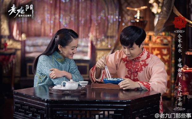Triệu Lệ Dĩnh, Trần Vỹ Đình đồng loạt khoác áo lông sang trọng trong Lão Cửu Môn - Ảnh 8.