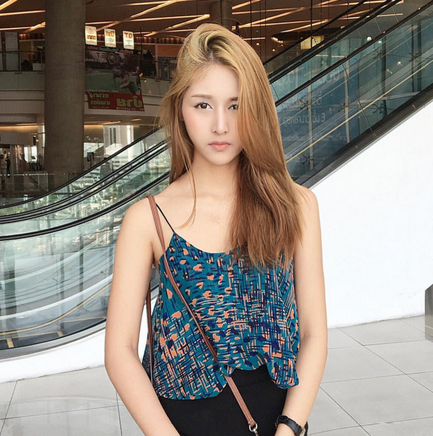 Đây là hot girl Thái Lan được nhận xét có gương mặt giống Quỳnh Anh Shyn đến 80%! - Ảnh 5.
